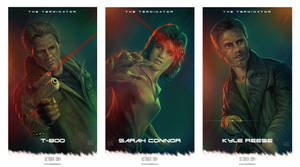 The Terminator (1984) tribute posters