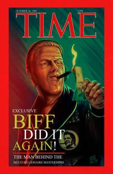 Biff Tannen cover Magazine