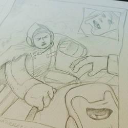 I'm gonna kill you! #sketch #comic #WIP #Drawing #
