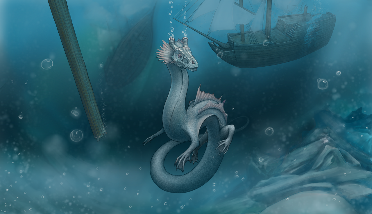 Sea dragon by AshiRox on DeviantArt