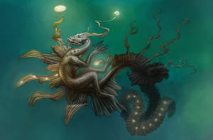 Sea Dragon by AshiRox