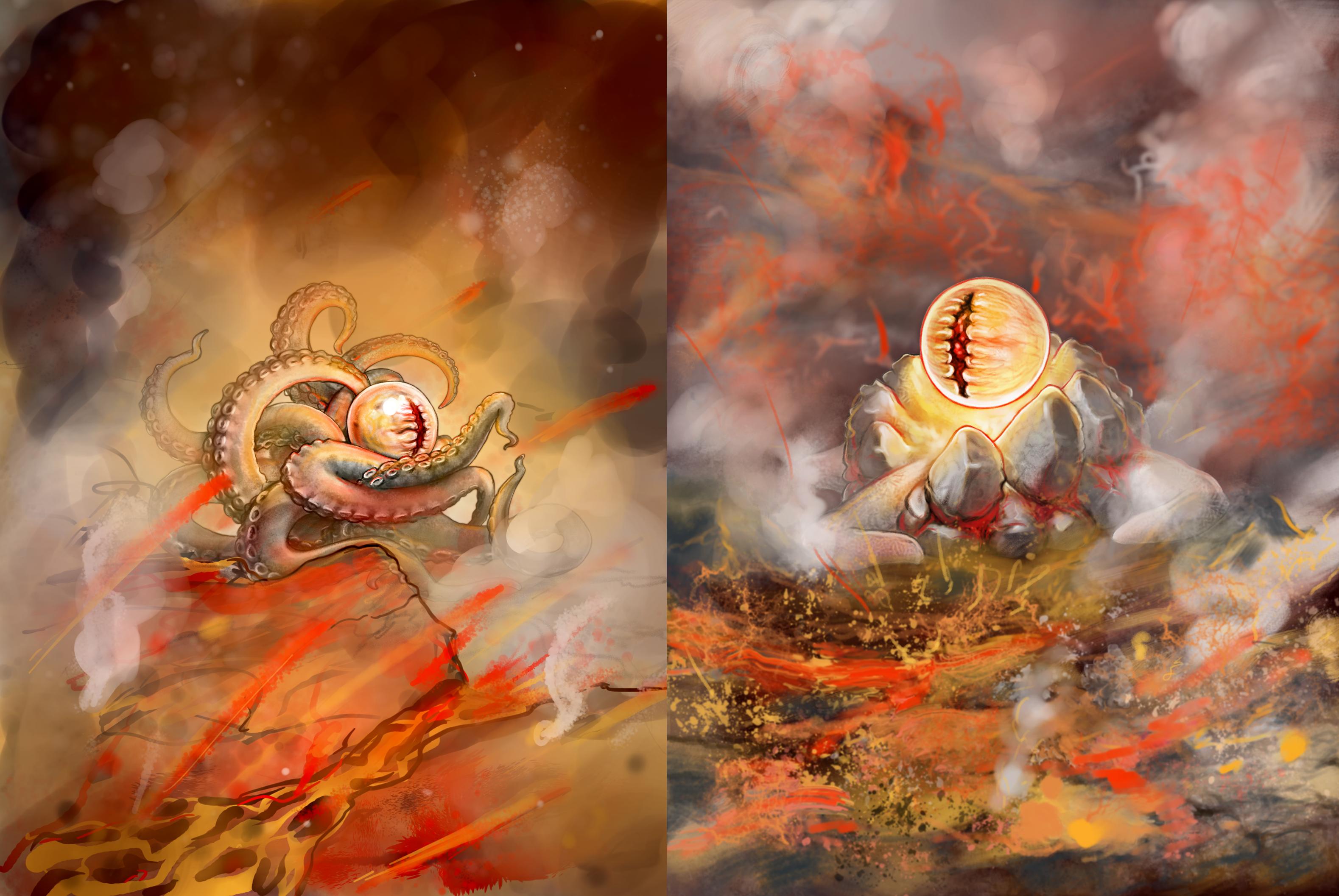 Lava Mollusk by AshiRox