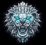 Lion logo by AshiRox