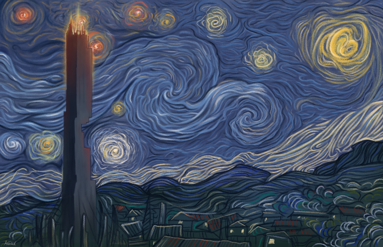 Dark energy night by AshiRox