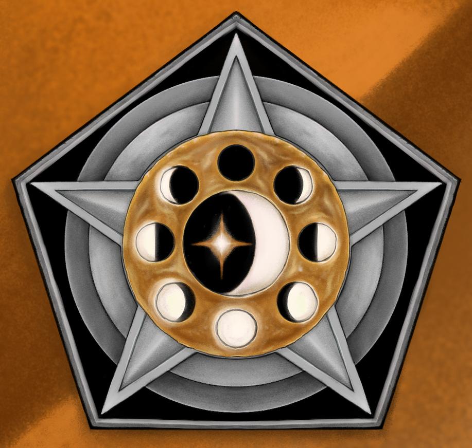 HoMM II Orange emblem by AshiRox