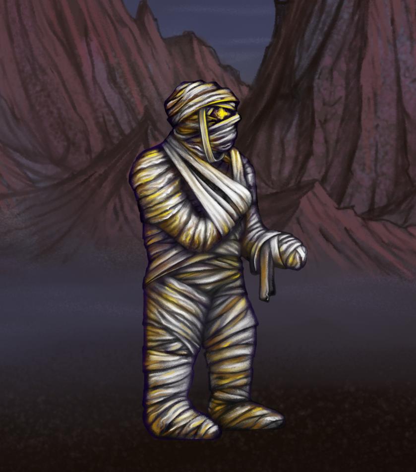 HoMMII Mummy by AshiRox