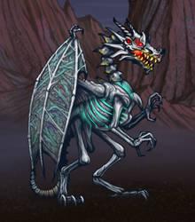 HoMMII Skeleton dragon