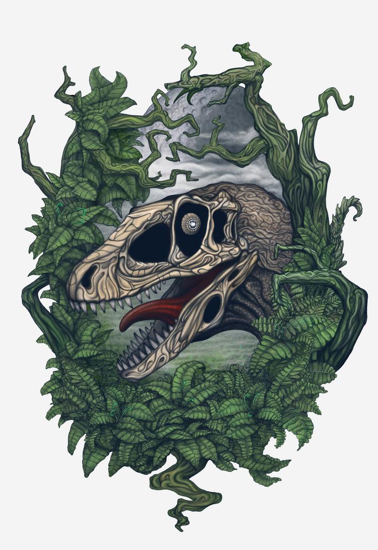 Deinonychus by AshiRox