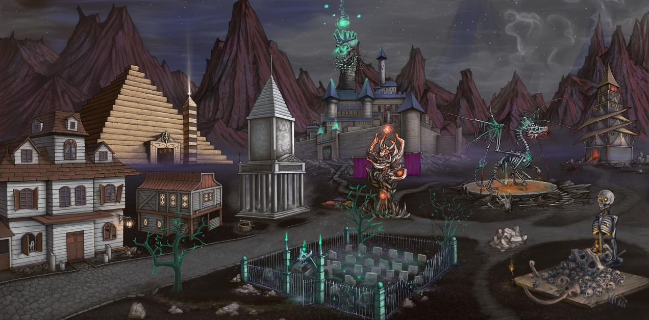 Necropolis by AshiRox