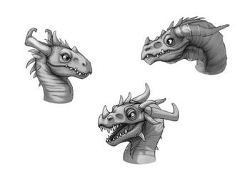 Dragons by AshiRox