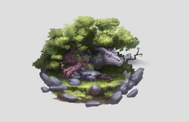 Dragon tree by AshiRox