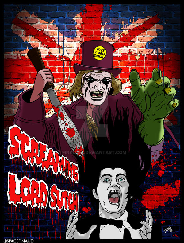 The Screaming Lord Sutch by finaud82