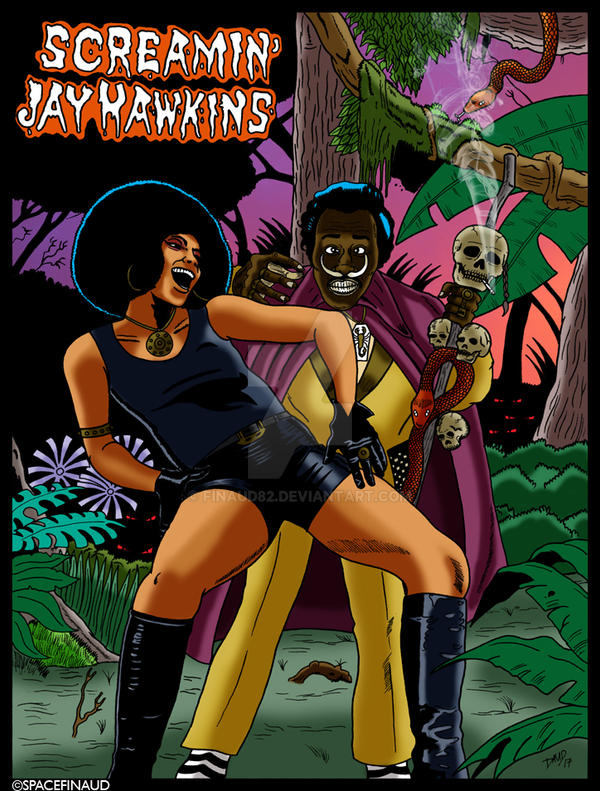 SCREAMIN' JAY HAWKINS by finaud82