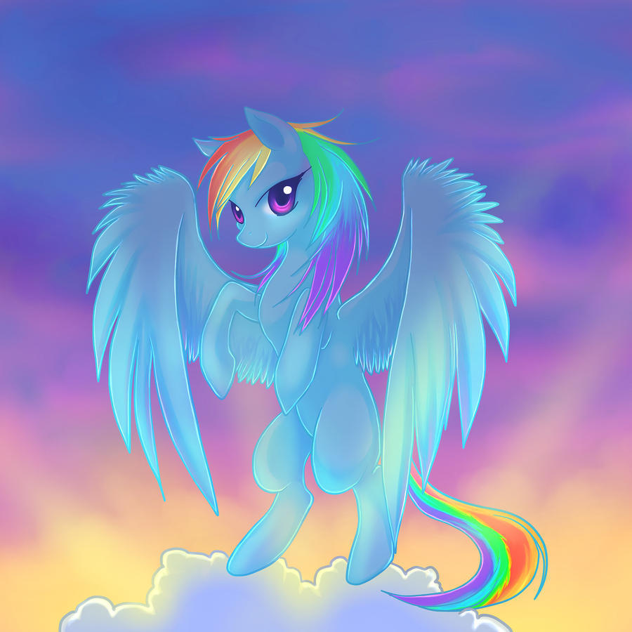 Rainbow in the sky by YogurtYard