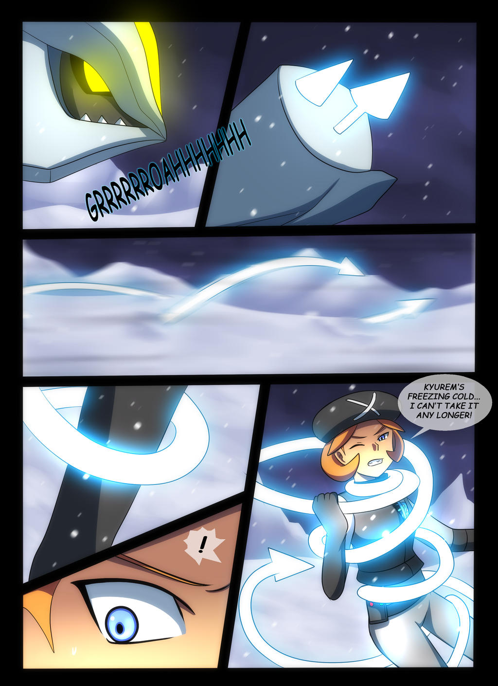 Pokemon Black vs White Chapter 3 Page 9 by YogurtYard