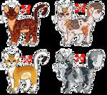 [CLOSED] warrior cats adopts.