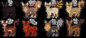 [2/8 OPEN] warrior cats adopts 3.
