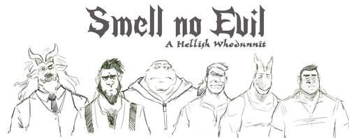 Smell no Evil by CaptainGerBear