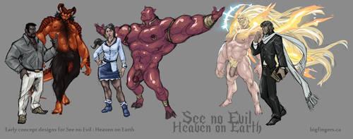 Heaven on Earth by CaptainGerBear