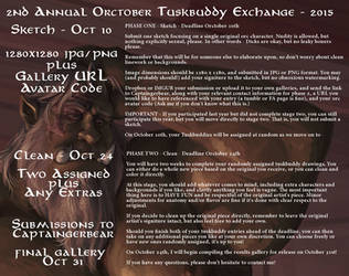 2nd Annual Orctober Tuskbuddy Exchange  - 2015 by CaptainGerBear