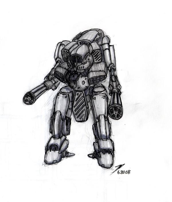 Metal Gear Taurus by ModalMechanica