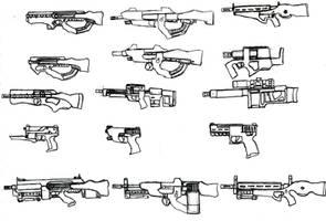 Guns by ModalMechanica