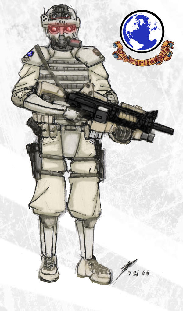 GMC Soldier by ModalMechanica
