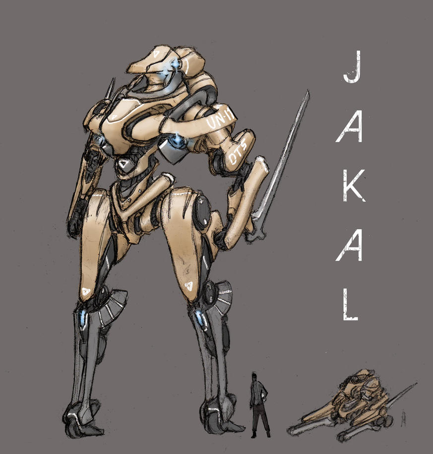 Mecha - Jackal by ModalMechanica