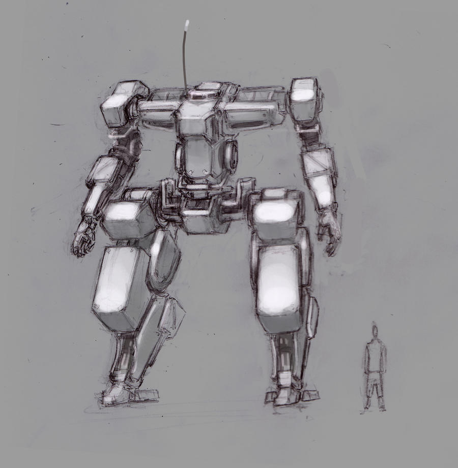 Mecha wiiiiippppp by ModalMechanica