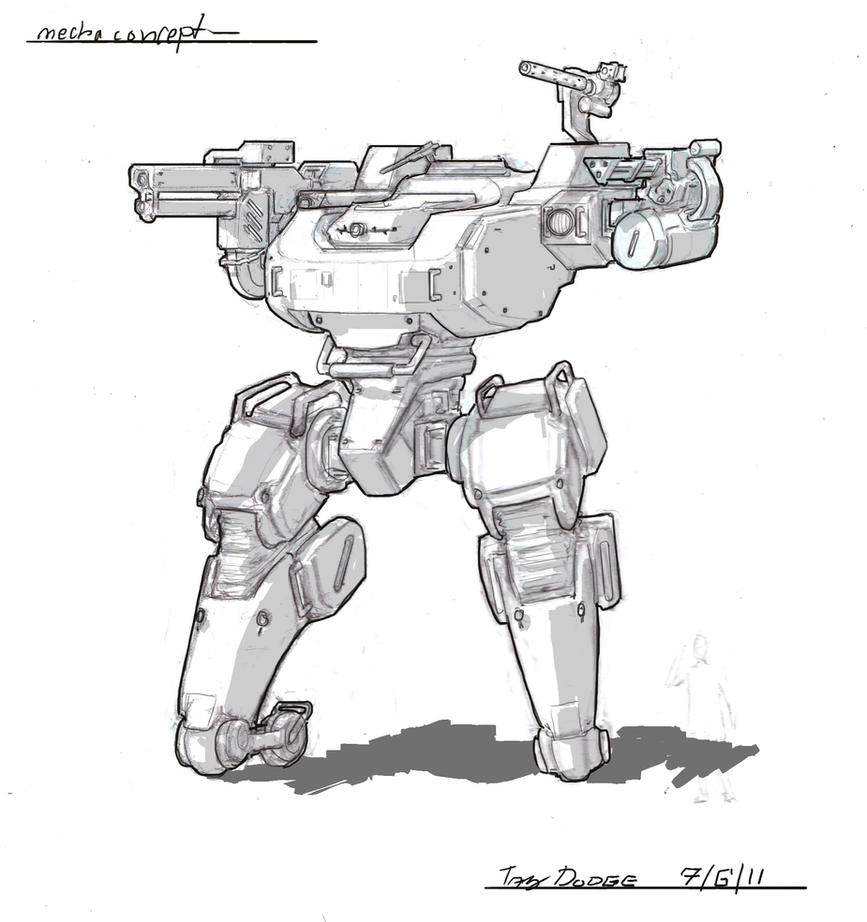 Another Mecha by ModalMechanica