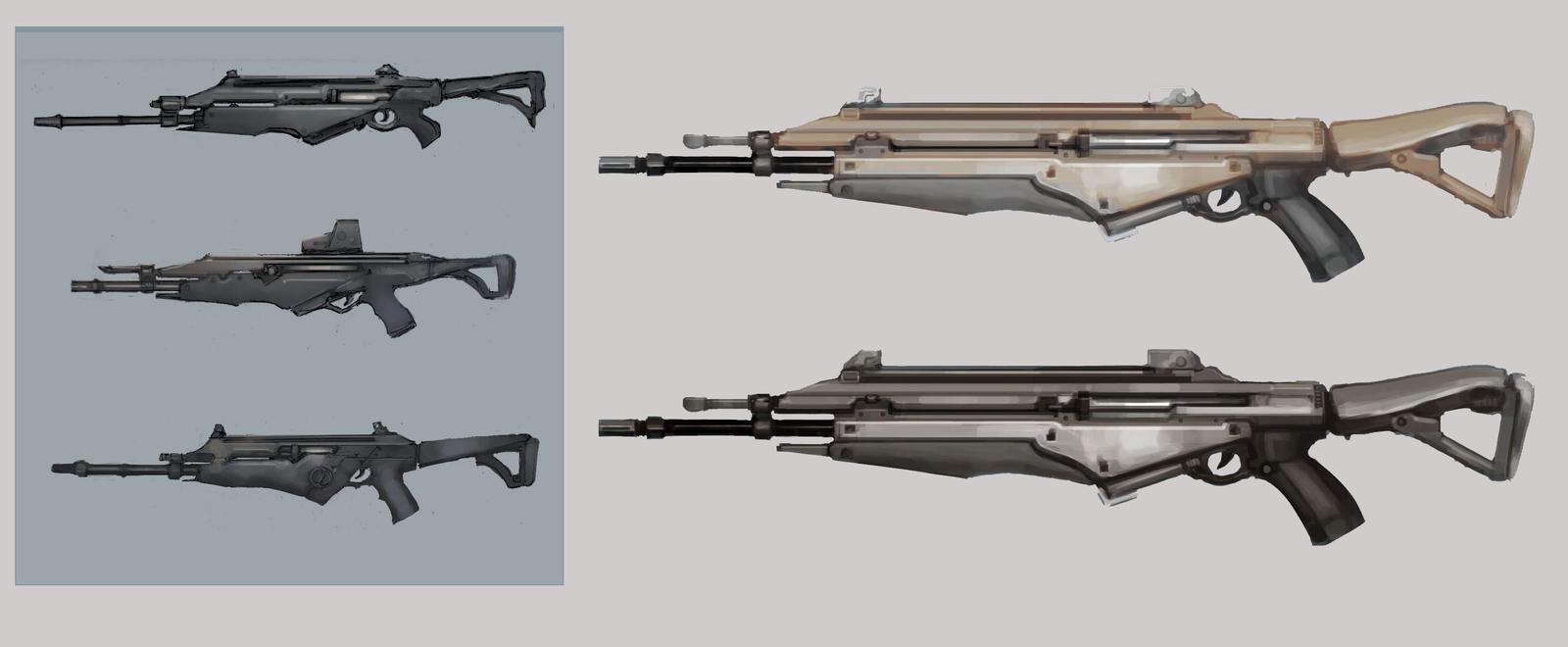 Weapon Sheet 1 by ModalMechanica
