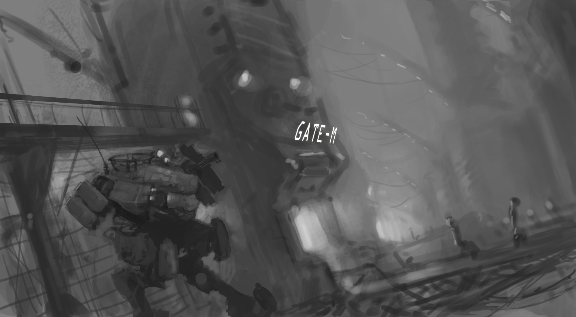 Boarding Call WIP by ModalMechanica