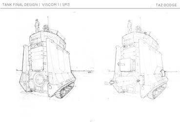Rook Battle Tank by ModalMechanica