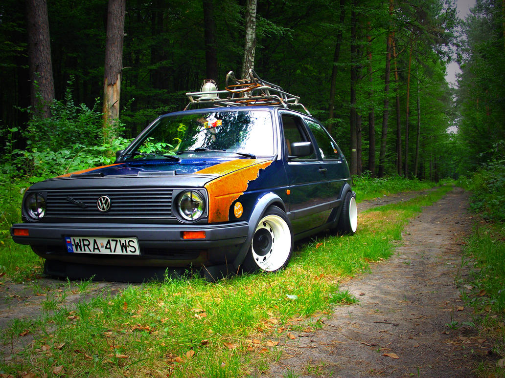 Golf mkII ROST/RAT style my friend by alv91