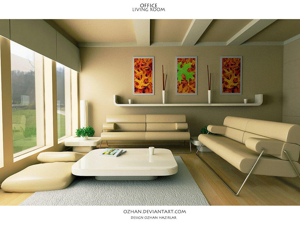 Office Living Room By TR3d ...