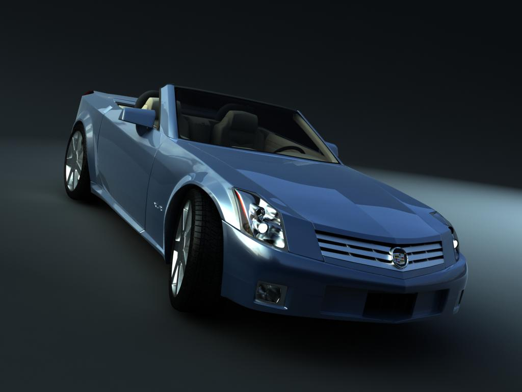 cadillac xlr cabrio v1 by tr3d on deviantart. Black Bedroom Furniture Sets. Home Design Ideas