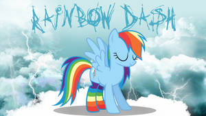 Rainbow Dash Wallpaper by Sonork91