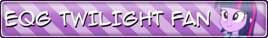 EQG Twilight Sparkle Fan Button by Sonork91