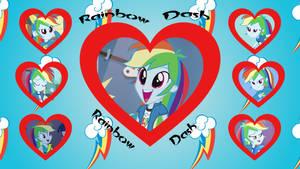 EQG Rainbow Dash Wallpaper