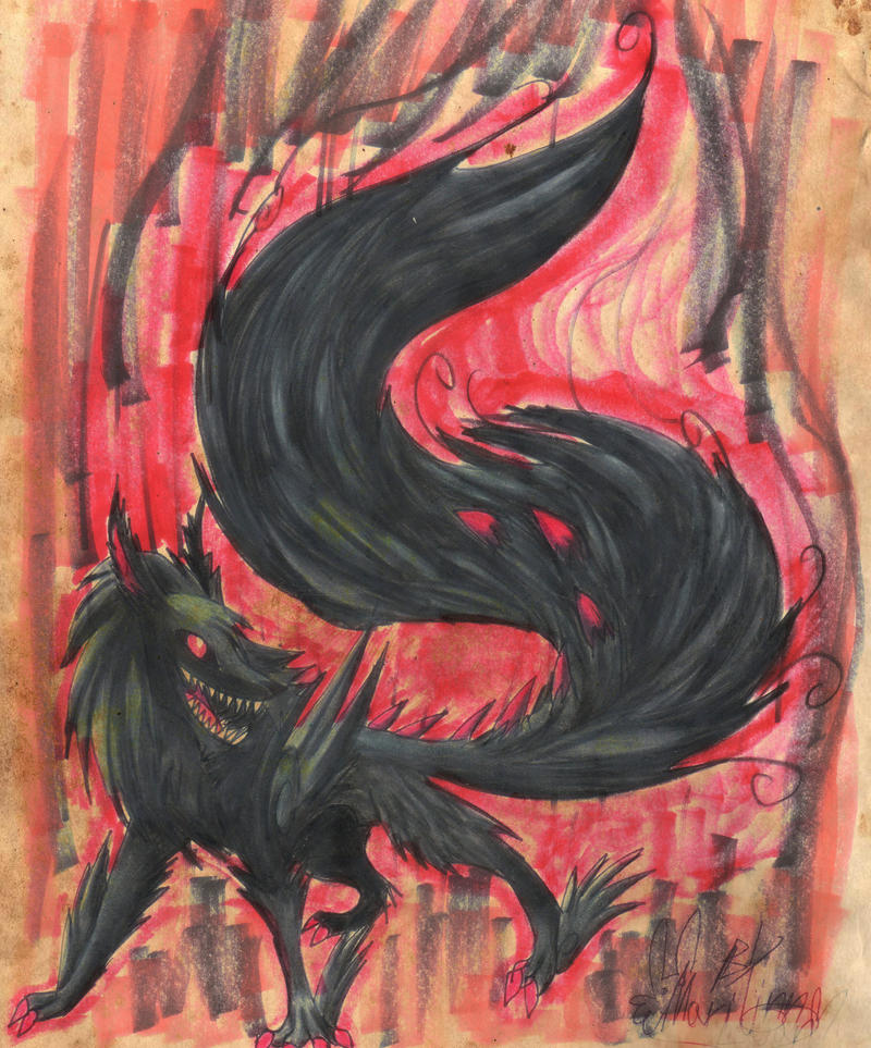 BIG fluffy tail by BunnyGirl-666