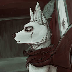 you waiting on a train? by Argiee