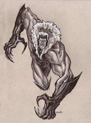 Sabretooth Sketch by AlexFactory