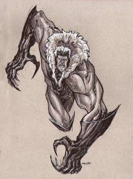 Sabretooth Sketch