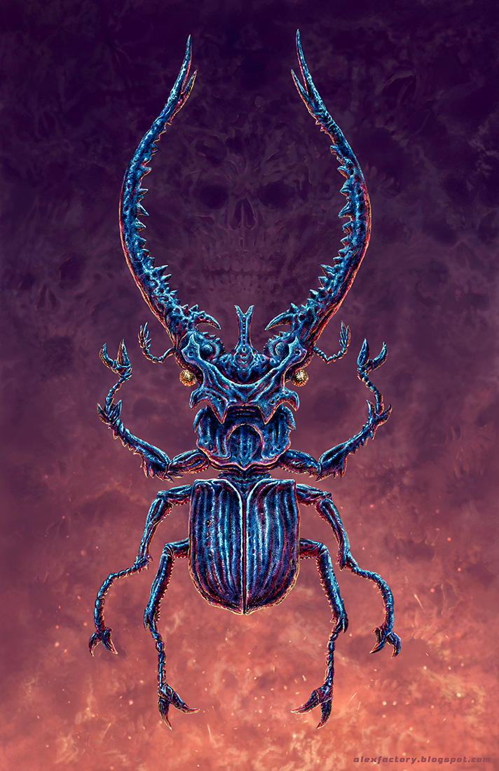 The Black Beetle by AlexFactory