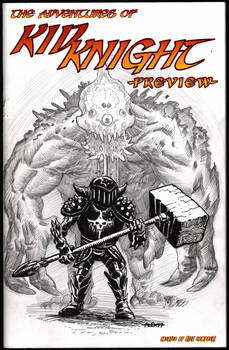 Kid Knight sketch cover