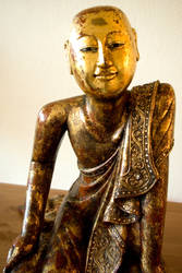 Disciple of the Buddha I - 4 by steppeland