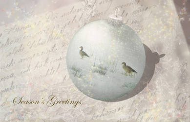Victorian Christmas Greetings by steppeland