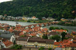 Heidelberg - View on river Neckar and Old Bridge