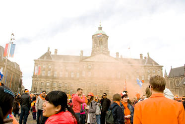 Royal Celebrations on the Dam by steppeland
