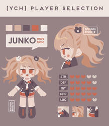 OPEN | YCH01 Player Selection